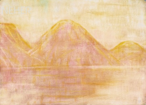 Christian Rohlfs, Yellow Lake Landscape, (1933)