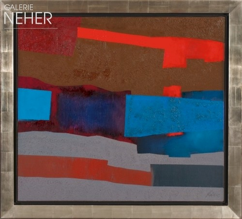 Fritz Winter, With Red, (1969)