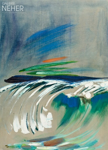 Siegward Sprotte, Wave with Sun, (1983)