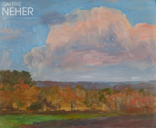 Walter Bertelsmann, Evening Cloud, (1903)