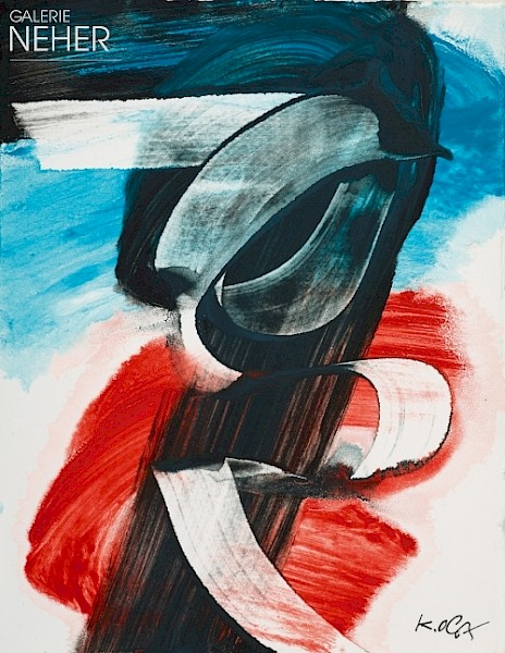 Karl Otto Götz, Untitled SRB 5, (2014)