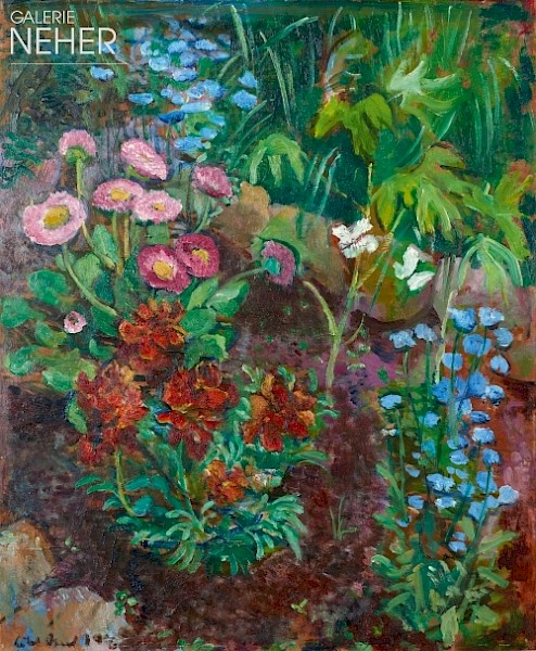 Lisel Oppel, Garden at Weyerberg, (1947)
