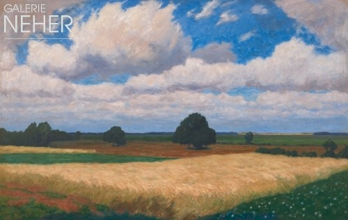 Fritz Overbeck, Summer clouds II, (1904)