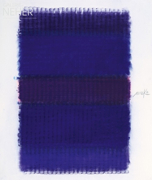 Heinz Mack, Blue Chromatic, (2016)