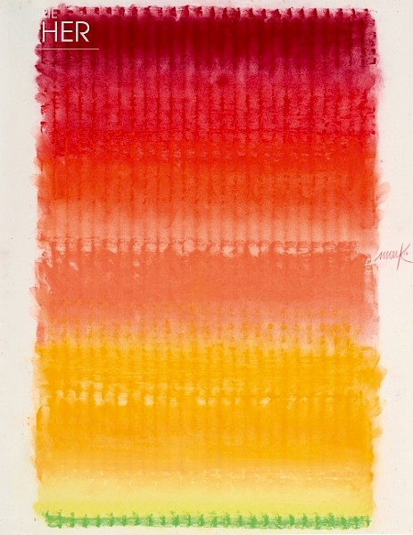 Heinz Mack, Ohne Titel - Farbchromatik (Untitled - Colour Chromatic), (2014)