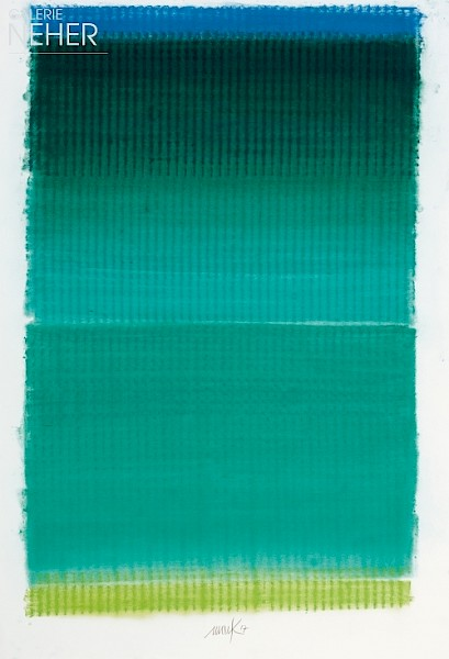 Heinz Mack, Ohne Titel - Farbchromatik (Untitled - Colour Chromatic), (2017)