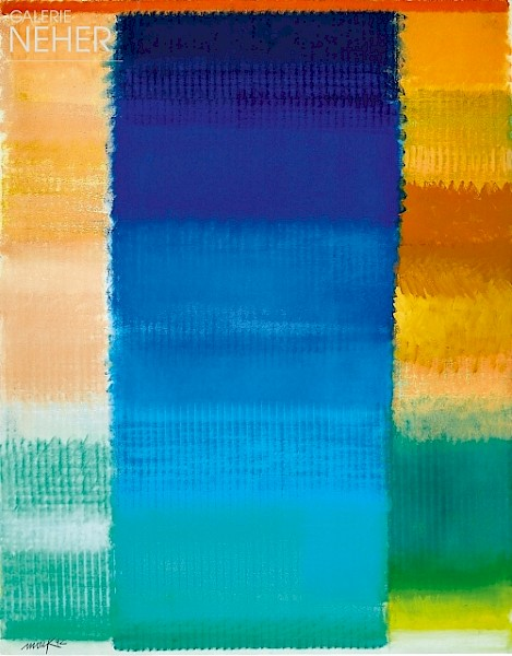 Heinz Mack, Ohne Titel - Farbchromatik (Untitled - Colour Chromatic), (1992)